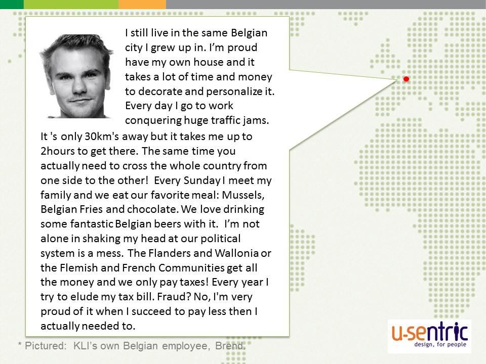 UX Fellows - Belgium - U-Sentric