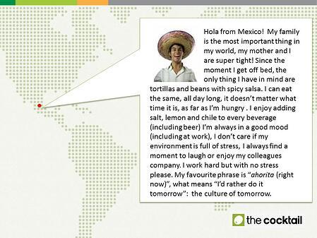 UX Fellows - Mexico - The Cocktail Analysis