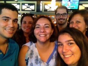 Tony Roma's Group Pic