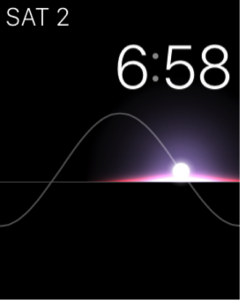 screenshot of an apple watch