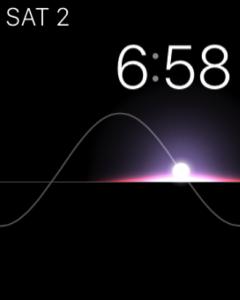 screenshot of an apple watch
