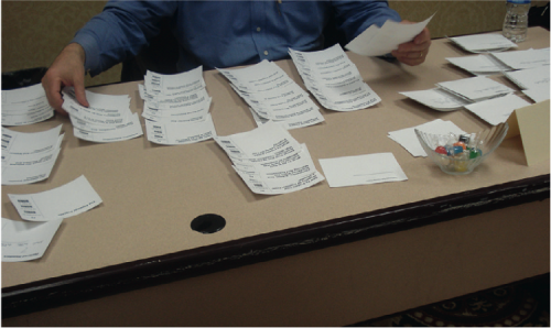 IA Issues? What do you do When Online Card Sorting is Not Enough?