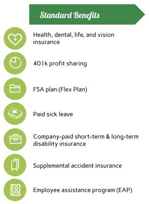 Company Standard Benefits