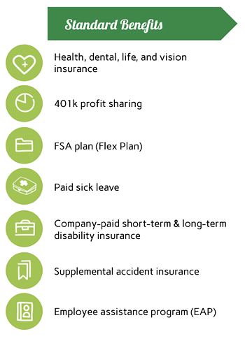 Standard Benefits