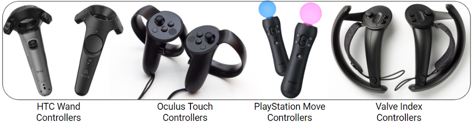 handheld controllers for immersive interactions