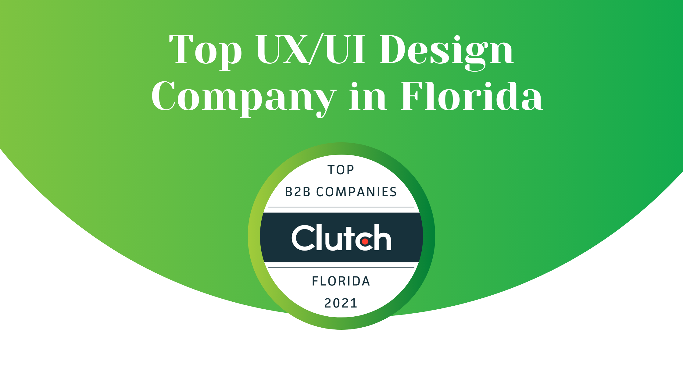 Clutch Recognizes Key Lime Interactive as a Top UX/UI Design Company in Florida