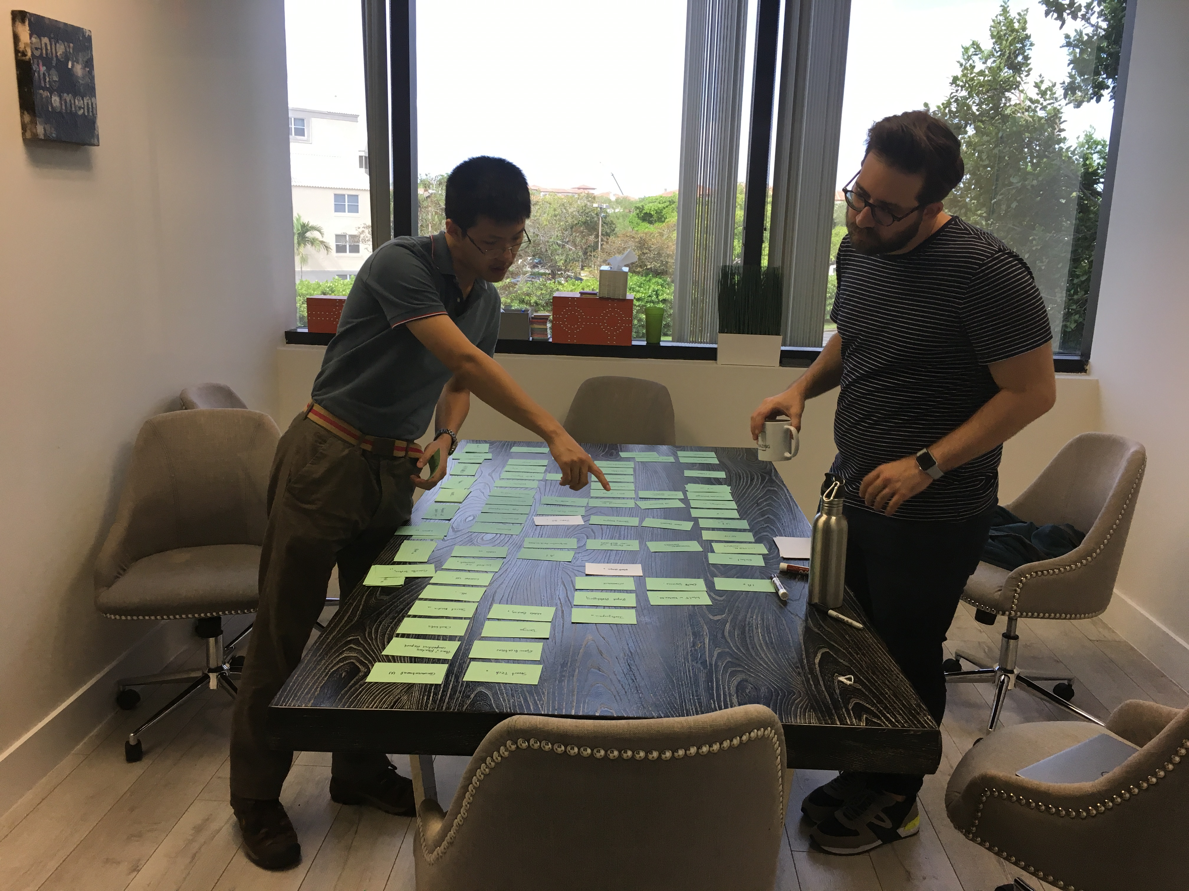Affinity Diagrams and Clustering