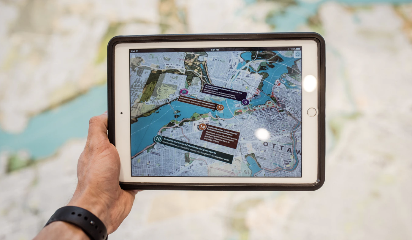 Augmented reality and tourism